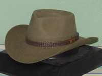 AKUBRA SNOWY RIVER IMPERIAL FUR FELT STOCKMANS HAT