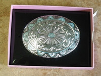 Womens Nocona Tribal Belt Buckle