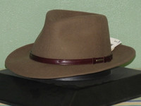 STETSON CRUISER CRUSHABLE/PACKABLE WOOL FEDORA HAT