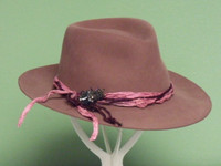 The Jewel Stetson Ladies Fur Blend Fedora