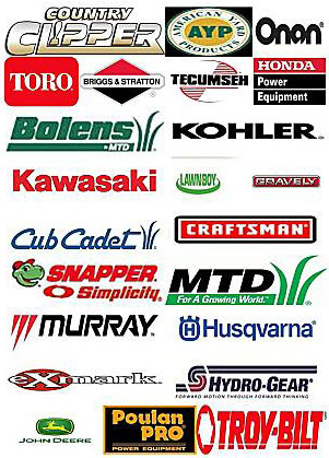 Lawn and Garden Parts Brands