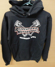 Black Cross Piston hoodie