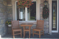 TRADITIONAL CHAIRS AND BISTRO DINING HEIGHT
