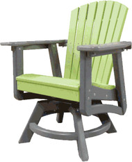 dining height swivel chair