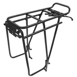 Tortec Transalp Disc Rear Pannier Rack Black