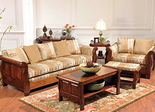 Sleigh Living Room Furniture