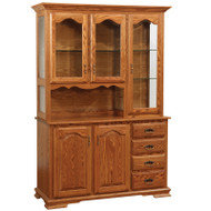Amish Handcrafted Heritage Hutch
