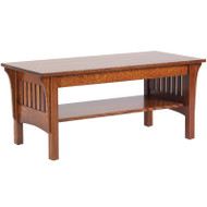 Amish Handcrafted 1800 Mission Coffee Table
