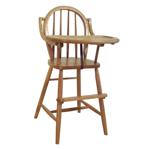 hardwood Bow High Chair | Southern Outdoor Living in Kentucky