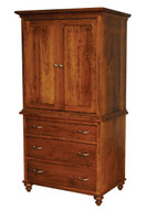 Amish Handcrafted #926 Duchess Armoire