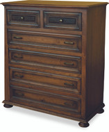 Amish Handcrafted Canyon Creek #1320 Six Drawer Chest