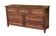 Amish Handcrafted #612 Brooklyn Dresser