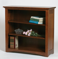 Amish Handcrafted Mission Bookcase