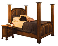 Amish Handcrafted Breckenridge Bed
