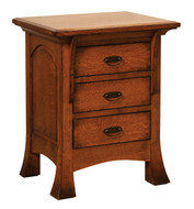 Amish Handcrafted Breckenridge Nightstand