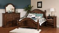 Amish Handcrafted Adrianna Bedroom Set