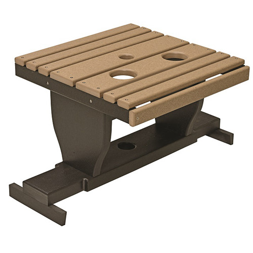 Gliding Settee Table Southern Outdoor Furniture