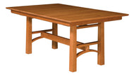 Amish Handcrafted Bridgeport Dining Table