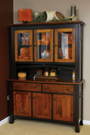Amish Handcrafted Madison 3 Door Hutch