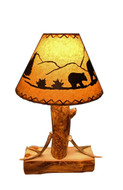 Aspen Table Lamp With Antlers