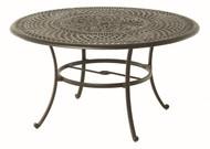 "Hanamint Bella 54"" Round Inlaid Lazy Susan Table"