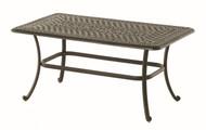 "Hanamint Bella 26""x48"" Rectangular Coffee Table"