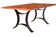 Amish Handcrafted Barnwood Golden Gate Table