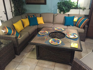 Lakeside Sectional ( as shown $2500.00)