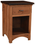 Amish Handcrafted Lewiston 1 Drawer Nightstand