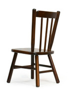 Amish handcrafted Two post child's chair in brown maple