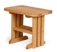 Heavy End Table Made With Treated Wood
