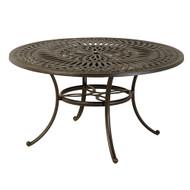 "Hanamint Mayfair 54"" Round Inlaid Lazy Susan Table"