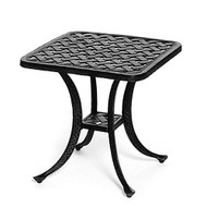"Hanamint Newport 21"" Square Tea Table"