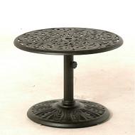 "Hanamint Chateau 30"" Round Umbrella Side Table"