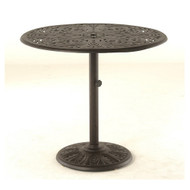 """Hanamint Chateau 42"""" Round Umbrella Chat Table"""