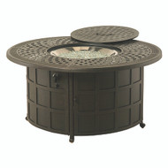 "Hanamint Berkshire 48"" Round Enclosed Gas Fire Pit"