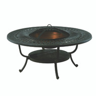 "Hanamint Mayfair 48"" Round Fire Pit Table"