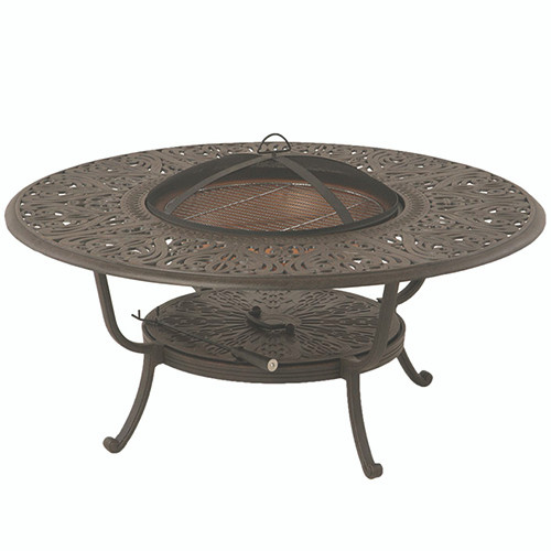 """Hanamint Tuscany 48"""" Round Fire Pit Table Southern"""