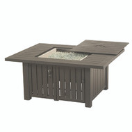 Hanamint Sherwood Rectangular Enclosed Gas Fire Pit
