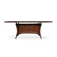 LLoyd Flanders Grand Traverse Oval Umbrella Table