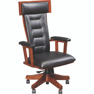 Amish Handcrafted London Desk Chair