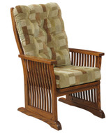 Amish Handcrafted 70 Mission Stationary Chair