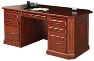 Amish Handcrafted Buckingham Executive Desk