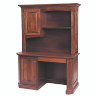 Amish Handcrafted Buckingham Work Station & Hutch