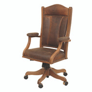 Amish Handcrafted Jefferson Office Chair