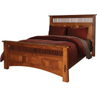Amish Handcrafted Dutch County Prairie Bed