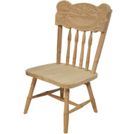 Amish Handcrafted Sunburst Child's Chair