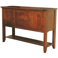 Amish Handcrafted Frontier Sideboard