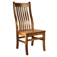 Amish Handcrafted Mission Side Chair