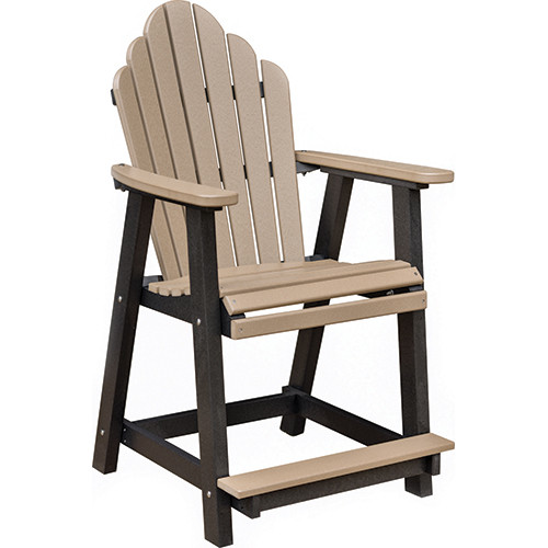 Cozi Back Counter Chair Southern Outdoor Furniture